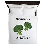 Broccoli Addict Queen Duvet