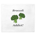 Broccoli Addict King Duvet