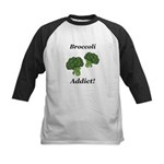 Broccoli Addict Kids Baseball Jersey