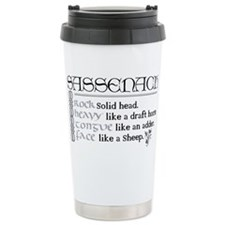 Funny Ginger on Travel Mug