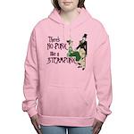 No Punk like a Steampunk. Women's Hooded Sweatshir
