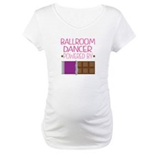 Ballroom dancer powered by choco Shirt