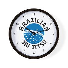 """""""BJJ"""" Brazilian Jiu Jitsu Wall Clock"""