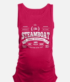 Steamboat Vintage Maternity Tank Top