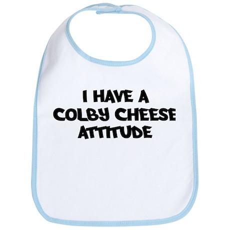 COLBY CHEESE attitude Bib