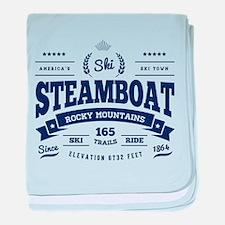 Steamboat Vintage baby blanket