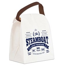 Steamboat Vintage Canvas Lunch Bag