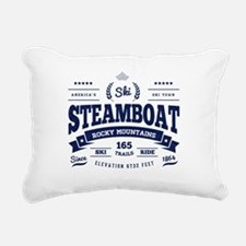 Steamboat Vintage Rectangular Canvas Pillow