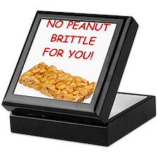 peanit brittle Keepsake Box