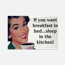 Breakfast In Bed Magnets