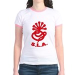 Symbionese Liberation Army (SLA) Jr. Ringer T-Shir
