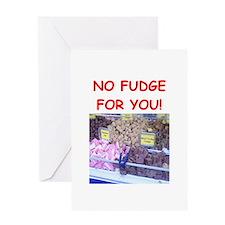 fudge Greeting Cards