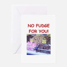 fudge Greeting Cards