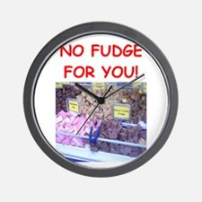 fudge Wall Clock