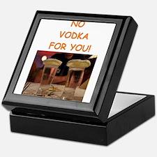 vodka Keepsake Box