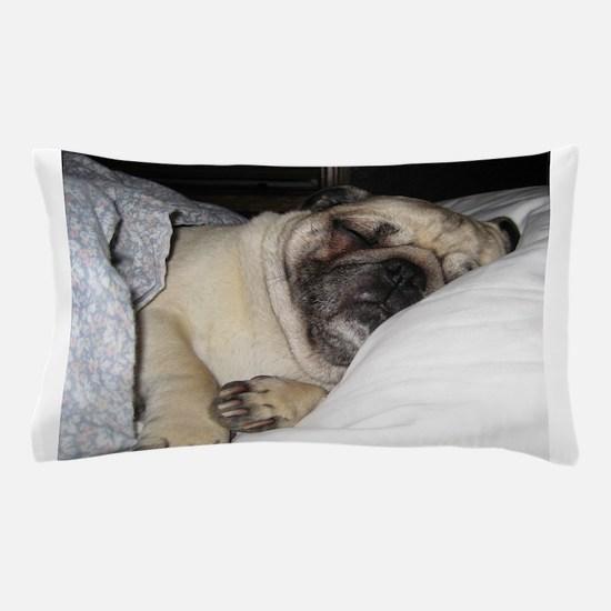 Sleepy Pug Pillow Case