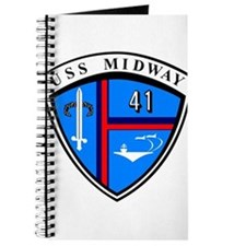 USS Midway CV-41 CVA-41 Journal