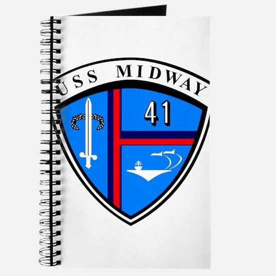 USS Midway CV-41 CVA-41 Journal