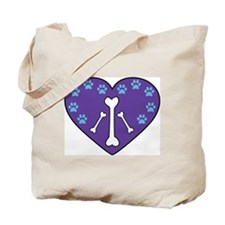 With Love for the Animals Tote Bag