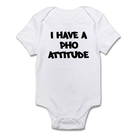 PHO attitude Infant Bodysuit