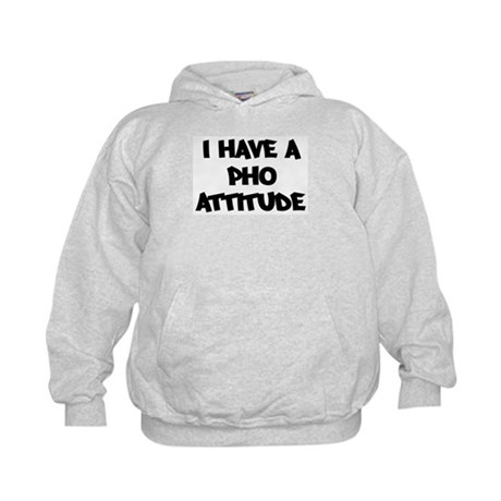 PHO attitude Kids Hoodie
