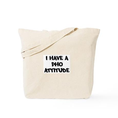 PHO attitude Tote Bag