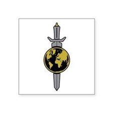 Enterprise Sword Square Sticker