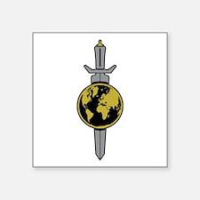 Enterprise Sword Square Sticker