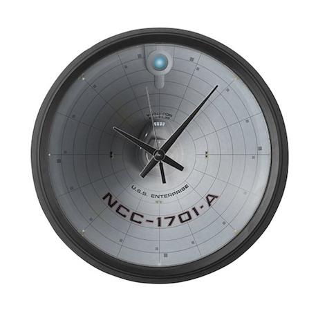 Enterprise 1701-A Saucer Large Wall Clock