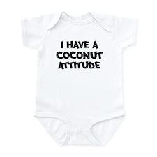 COCONUT attitude Infant Bodysuit