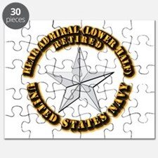 Navy - Rear Admiral (lower half) - O-7 - Re Puzzle