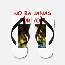 banana Flip Flops