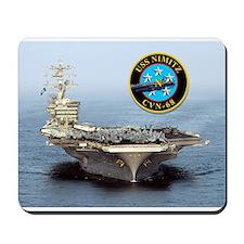 USS Nimitz CVN-68 Mousepad