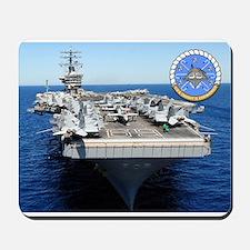 USS Dwight D. Eisenhower CVN-69 Mousepad