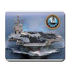 USS Theodore Roosevelt CVN-71 Mousepad