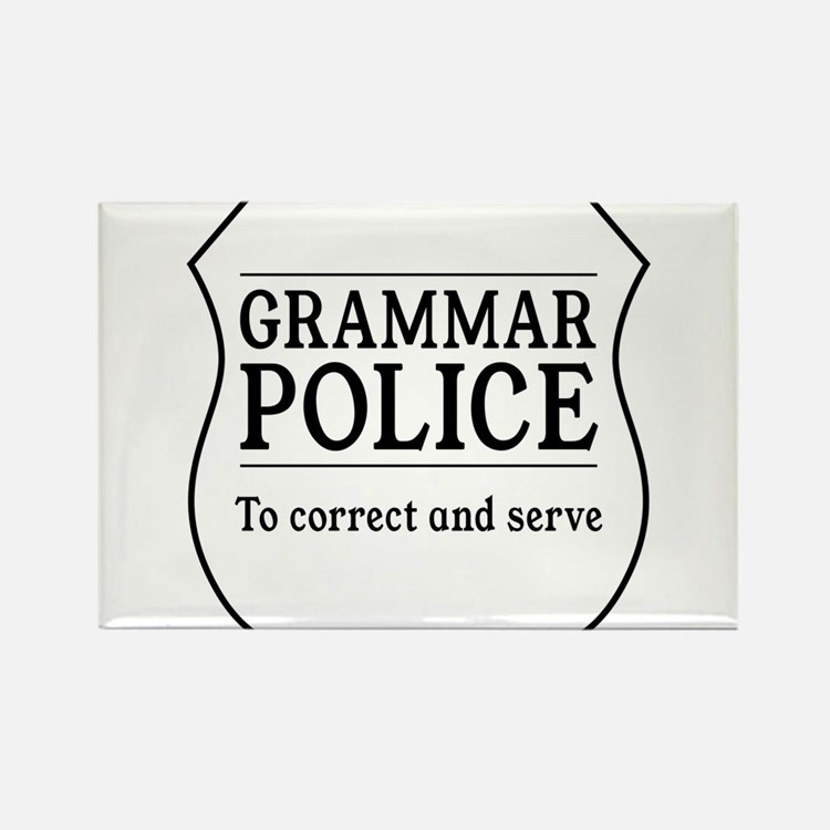grammar police Magnets