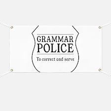 grammar police Banner