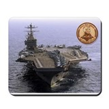 Uss abraham lincoln Classic Mousepad
