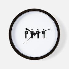 Cute Fangirl Wall Clock