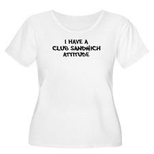 CLUB SANDWICH attitude T-Shirt