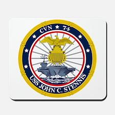 USS John C. Stennis CVN-74 Mousepad