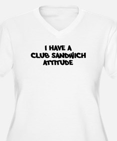 CLUB SANDWICH attitude T-Shirt