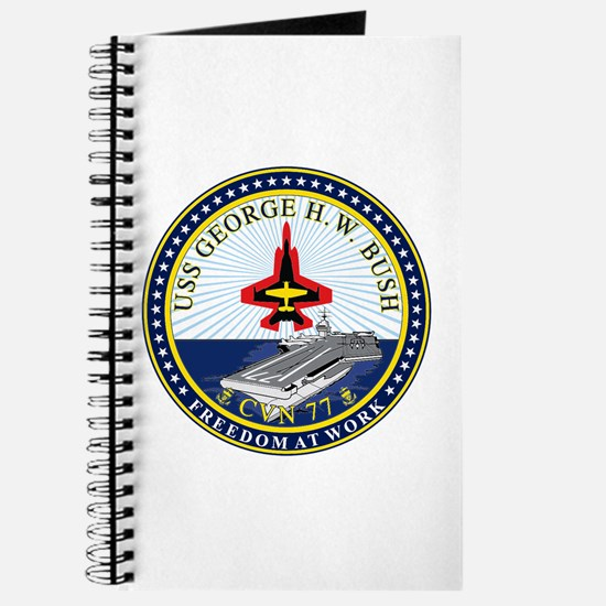 USS George H. W. Bush CVN-77 Journal
