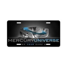 MercuryUniverse (Original - Aluminum License Plate