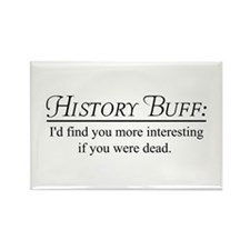 History buff Magnets