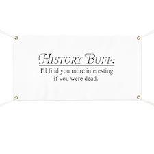 History buff Banner