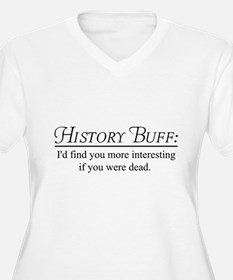 History buff Plus Size T-Shirt
