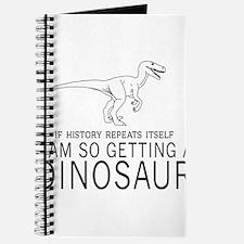 history repeats dinosaur Journal