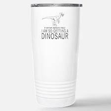 history repeats dinosaur Travel Mug