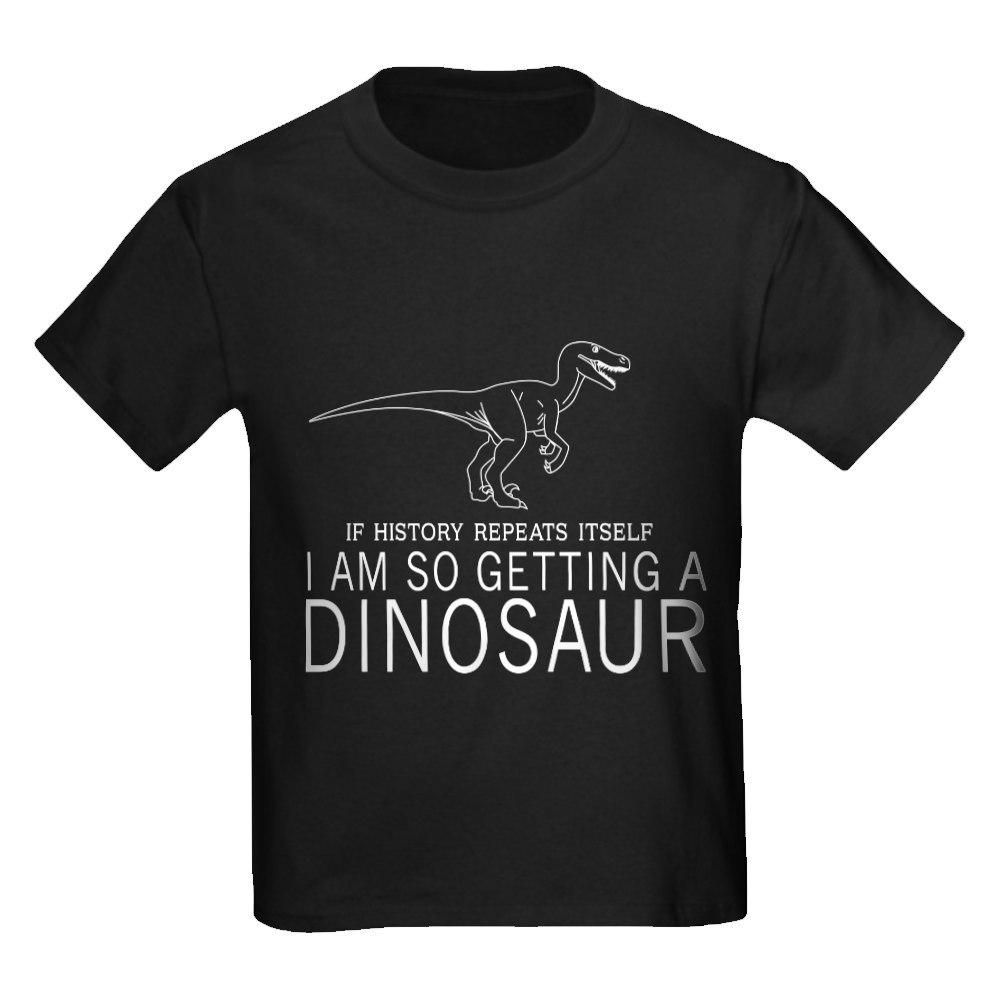 CafePress history repeats dinosaur T-Shirt